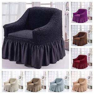details sur housse de fauteuil extensible 1 places sofaschoner