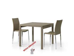 Tavolo Da Pranzo Allungabile Quadrato