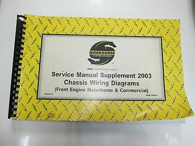 workhorse custom chassis service manual supplement chassis