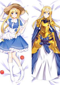 details zu sword art online alicization alice dakimakura hug body pillow cover case 59