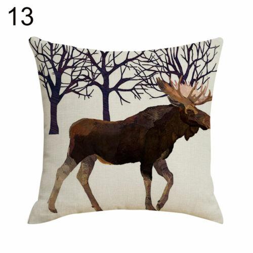 indian south asian home decor pillows ab linen owl bear squirrel fox throw pillow case cushion cover sofa bed decor s home garden