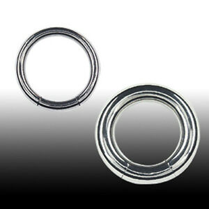 2,5mm Smooth Segment Ring Septum Brust Intim Ohr Piercing Ring