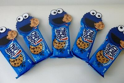 Cookie Monster Party Favors Birthday Party Baby Shower Set Of 5 Ebay