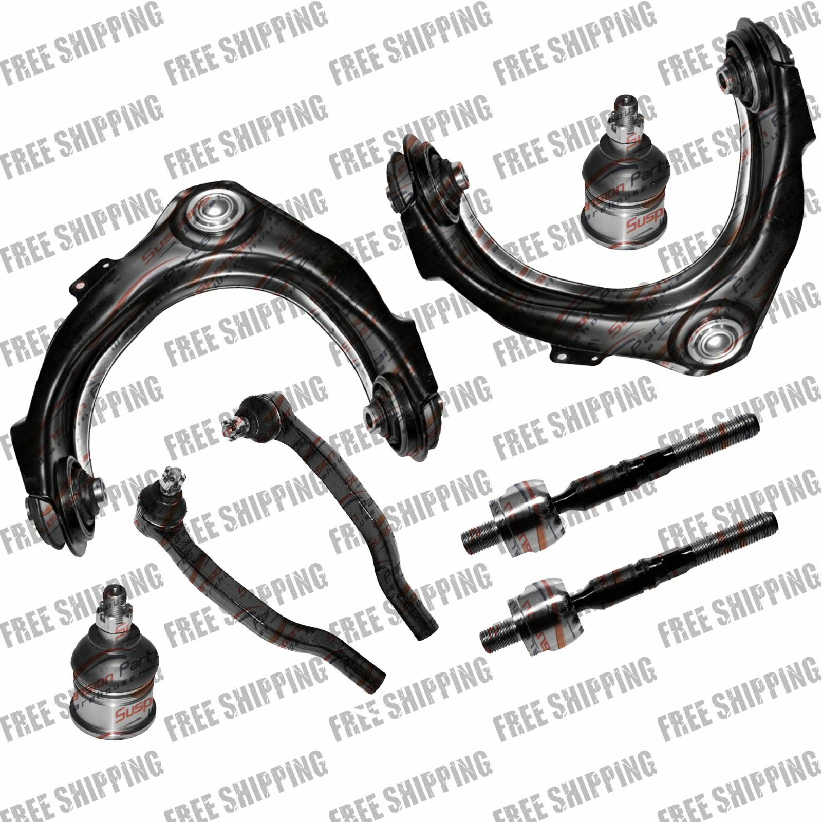 Front Upper Control Arm Ball Joint Tie Rod Linkages For