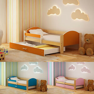 Image Is Loading New 160x80 Or 180x90 Toddler Children Kids Bed