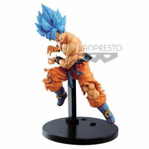 Goku Pelo Azul God Dragon Ball / Banpresto Original