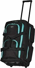 duffel bag with wheels drop bottom