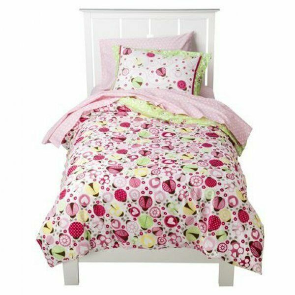 circo full comforter sheets 7 pc ladybug lady bug collection girls bedding for sale online ebay