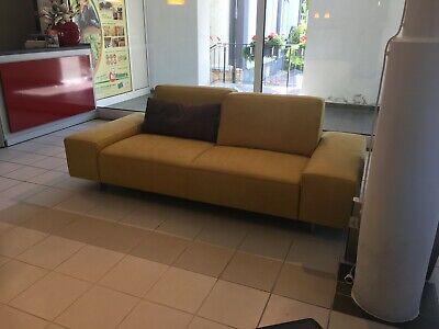 koinor sofa 3 sitzer more ausstellungsstuck abverkauf indian safran ebay