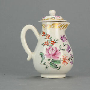 Very Rare Antique Chinese Qianlong Period Creamer Tea Famille ROse Qing