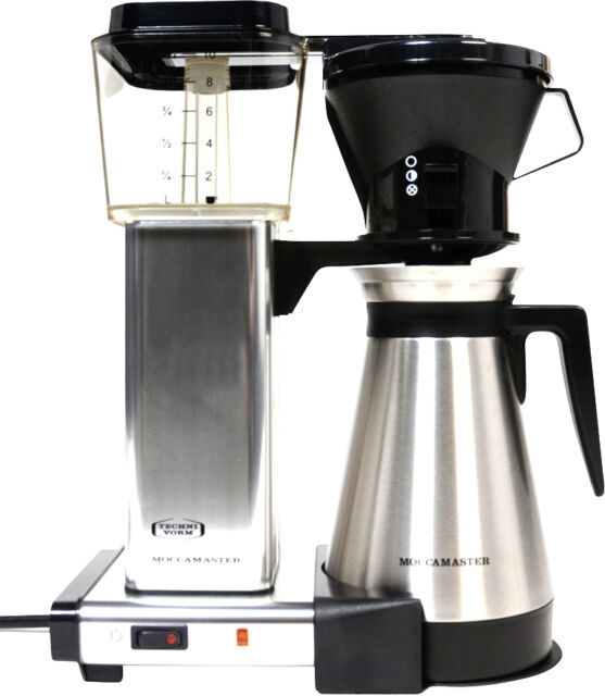 Technivorm Moccamaster 10 Cup Coffee Maker Polished Silver For