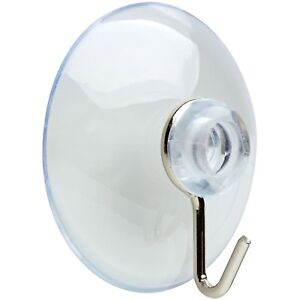 details about suction cups window glass hooks bathroom kitchen strong towel hanger suckers 4cm