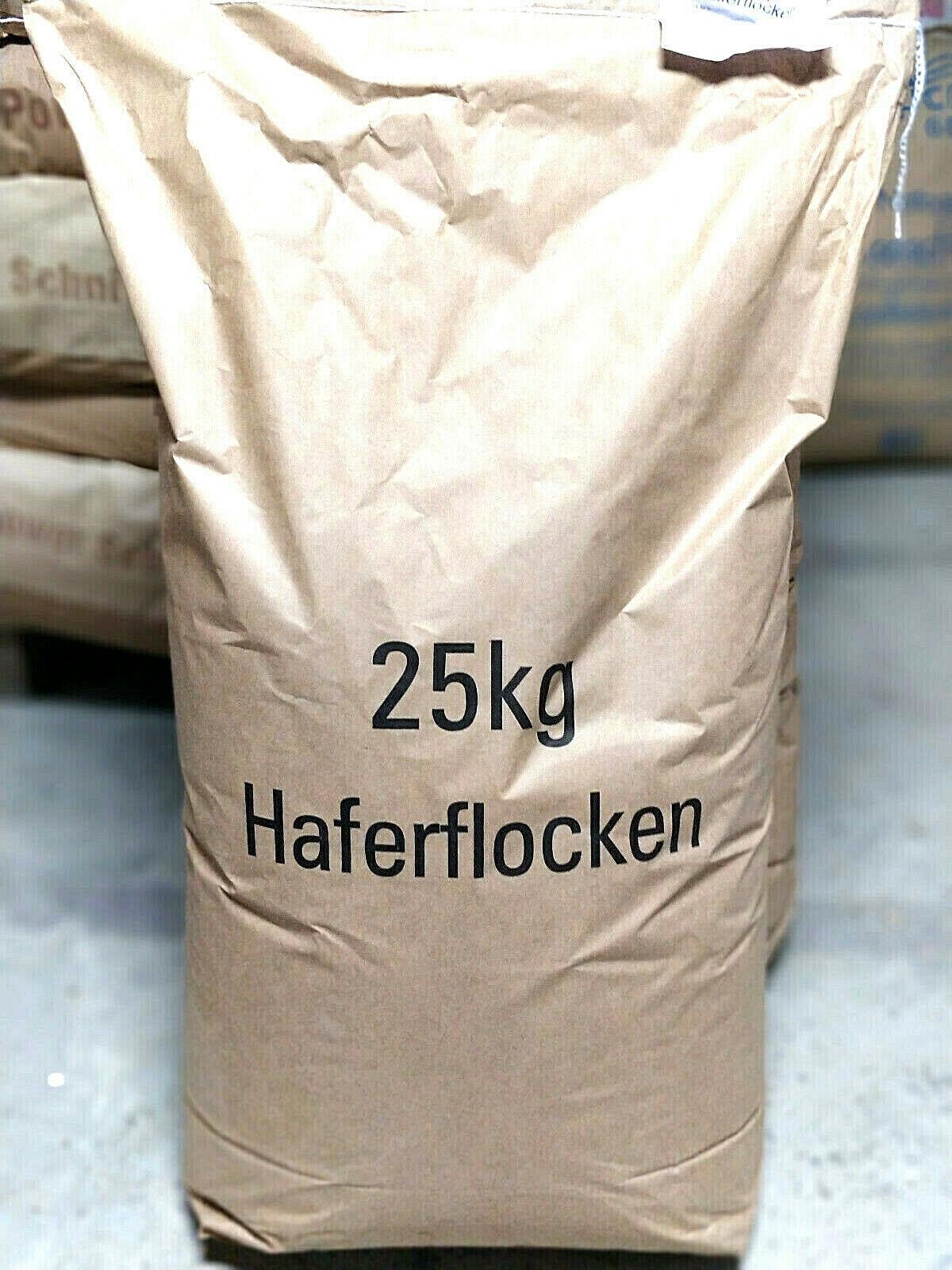 (EUR 1,15 / kg) Haferflocken Futterhaferflocken 25 Kg