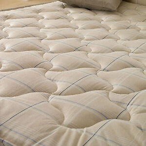 Image Is Loading New Deluxe Beds Paris Open Spring Mattress Free