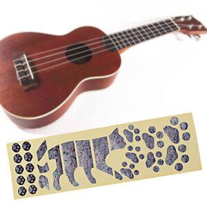Tiger Foot Ukulele Fret Fretboard Sticker Fingerboard ...