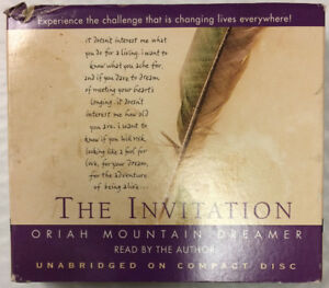 Image Is Loading Oriah Mountain Dreamer The Invitation Cd Audiobook Audio