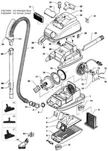 Miele S500 S600 Series Parts From Working Model S514 You Kirby Vacuum Diagram