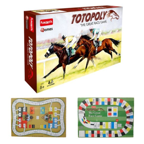TOTOPOLY The Great Race Game Funskool 2013 Edition for ...