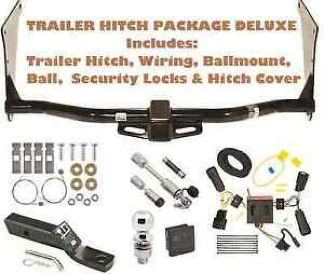 Image Is Loading  Ford Escape Trailer Tow Hitch Pkg Deluxe