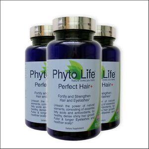 regrow hair proven perfect hair vitamin healthy shiny x3 replace phytophanere ebay