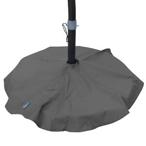 details about duraviva outdoor patio umbrella base stand weatherproof layover cover