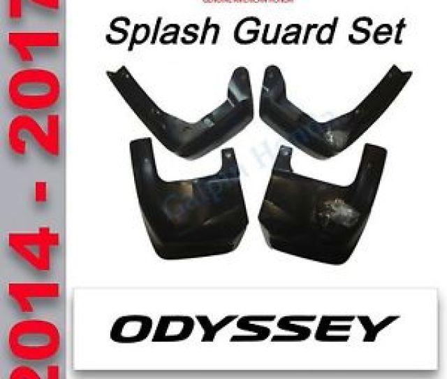Image Is Loading Honda Odyssey Splash Guards 2014 2017 P N 08p00