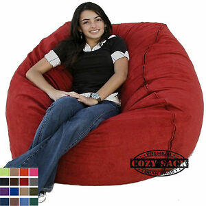 Convertible Beanbag Style Twin Sleeper Chair Bed W Corduroy Cover