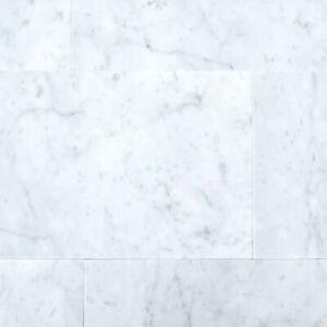 details about bianco carrara honed matt white marble wall floor tiles samples