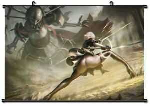 details about hot game anime ps4 nier automata poster wall scroll home decor 60 40cm p27