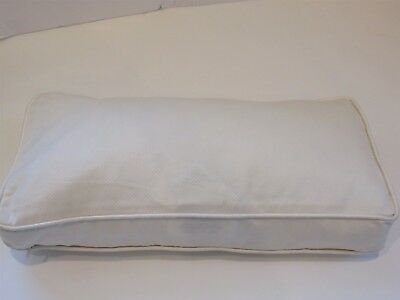 Barbara Barry Polished Pique Moonglow Deco Pillow Nwt