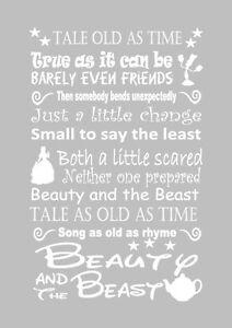 beauty and the beast lyrics # 18