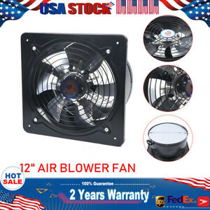 details about 110v 125w 12 300mm air extractor fan ventilation exhaust fan 2800r min new