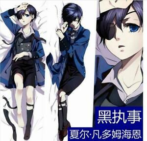 details zu anime black butler dakimakura ciel phantomhive hug body pillow case cover 59