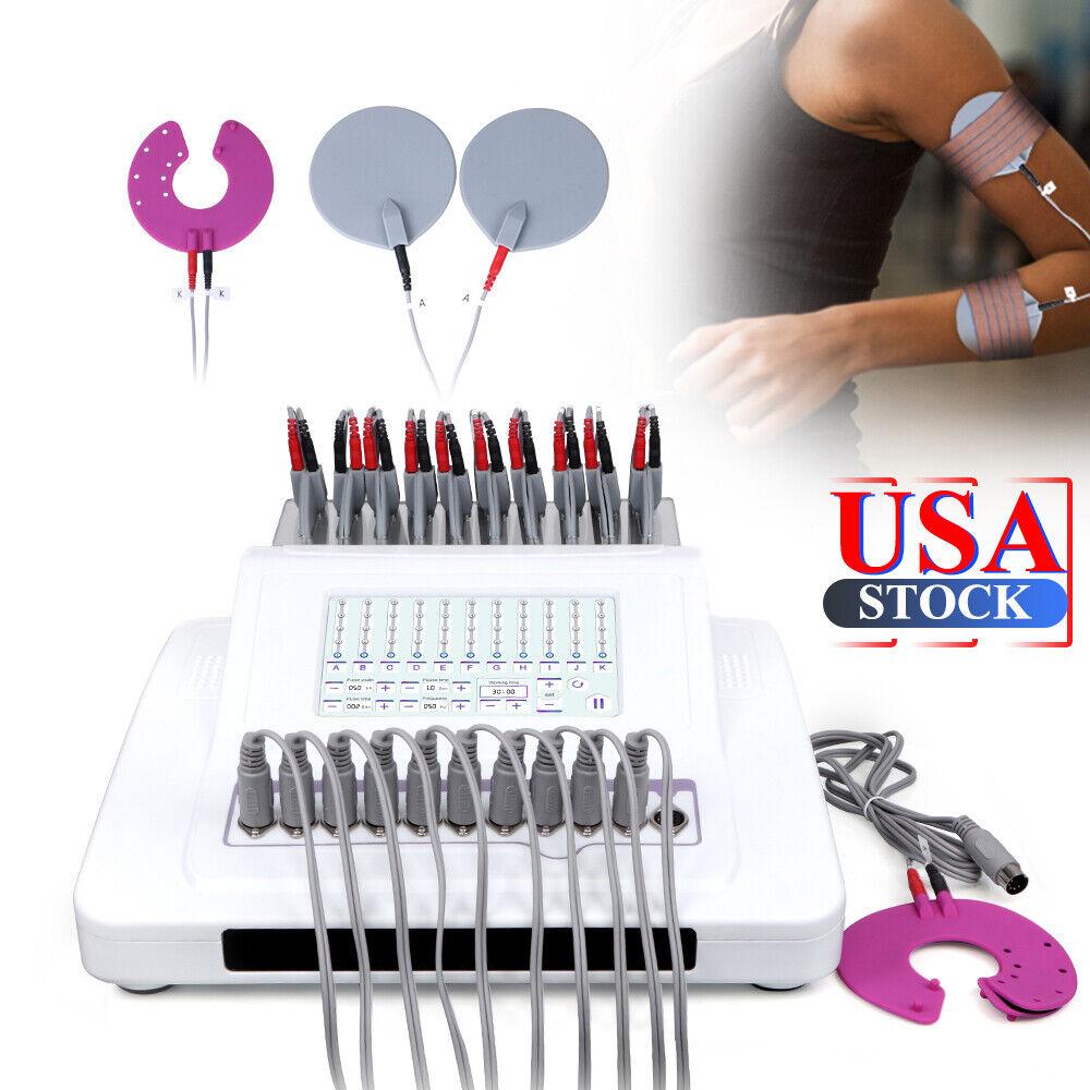 Electric Stimulation Machine Microcurrent Body Shaper Tighten Fitness Massager