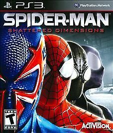 Spider Man Shattered Dimensions Sony Playstation 3 2010 For Sale Online Ebay