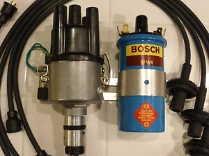 VW bug electronic ignition package VW bus electronic Bosch 009, coil, plug wires | eBay