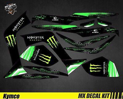 kit deco quad for atv decal kit for kymco maxxer monster ebay