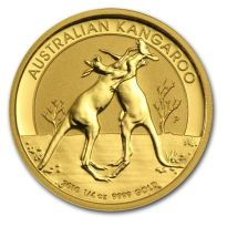 Goldmünze Känguru Australien verschiedene Jahrgänge 1/4 oz in Stempelglanz