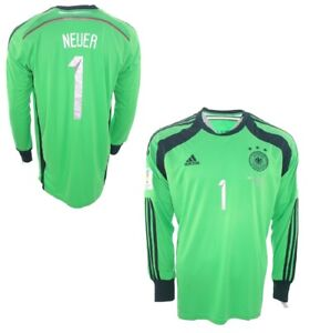 Adidas Deutschland Torwart Trikot 1 Manuel Neuer Wm 2014 Dfb Neu S M L Xl Xxl Ebay