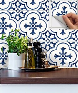 details about tile stickers for kitchen backsplash floor bath removable dutchblue bw002