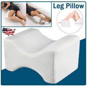 details about orthopedic knee leg pillow for sciatica relief back pain wedge sleeping cushion