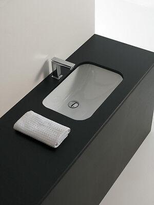 Lavabo Sous Plan Salle De Bain Lave Mains Modele Nettuno En Ceramique Ebay