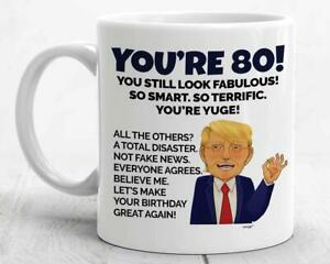 80th Birthday Mug 80 Year Old Birthday Gifts For Men Women Turning Eighty Mug Ebay