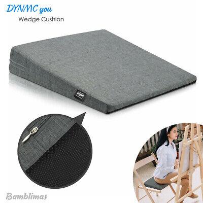 dynmc you comfortable wedge cushion anti slip seat wedge car home office chair ebay
