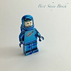 Lego Chrome Blue Astronaut Space Classic Mini Figure  New    eBay Image is loading Lego Chrome Blue Astronaut Space Classic Mini Figure