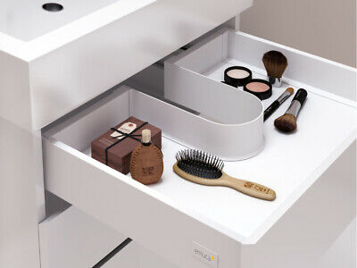 emuca bathroom under sink drawer cutout liner brand new item ebay