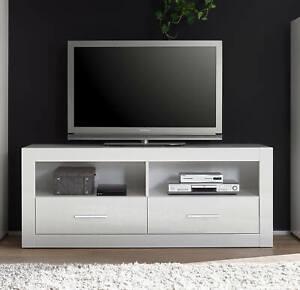 Bianco Tv Lowboard 150cm Weiss Hochglanz Tv Board Schrank Modern