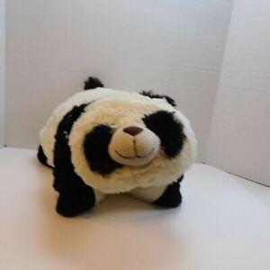 details about my pillow pet panda bear large 18 white black plush 2010 original