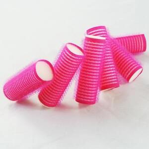 universal size s 6pcs cling roller sponge sleep in foam hair tools design style