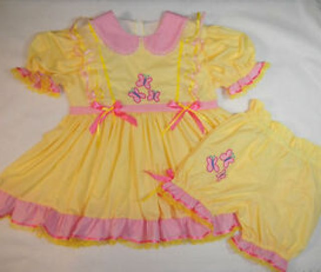 Chargement De Limage Adult Baby Sissy My Little Pony Fluttershy Dress